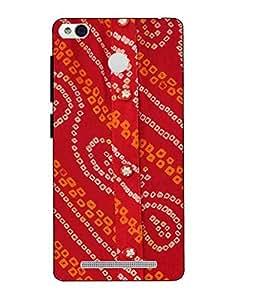 Make My Print Printed Multicolor Hard Back Cover For Xiaomi Redmi 3S