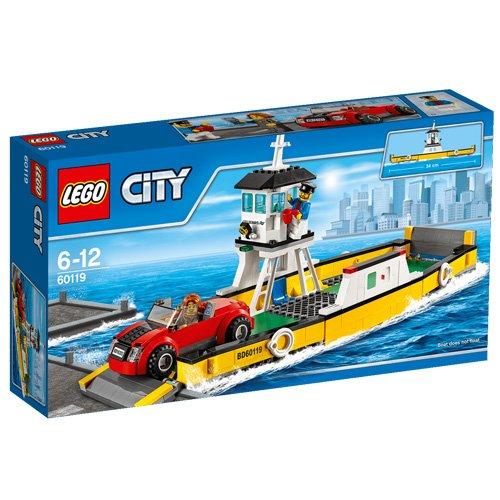 LEGO City Great Vehicles 60119 - Traghetto