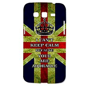 Skin4gadgets I CAN'T KEEP CALM BECAUSE YOUR ARE ADORABLE - Colour - UK Flag Phone Designer CASE for SAMSUNG GALAXY GRAND 2 ( G7106)