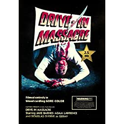 Drive In Massacre [VHS Retro Style] 1977