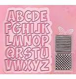 Marianne Design Alfabet Collectables Die, Pink