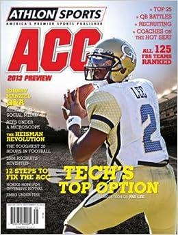 Athlon Sports 2013 College Football ACC Preview Magazine- Georgia Tech