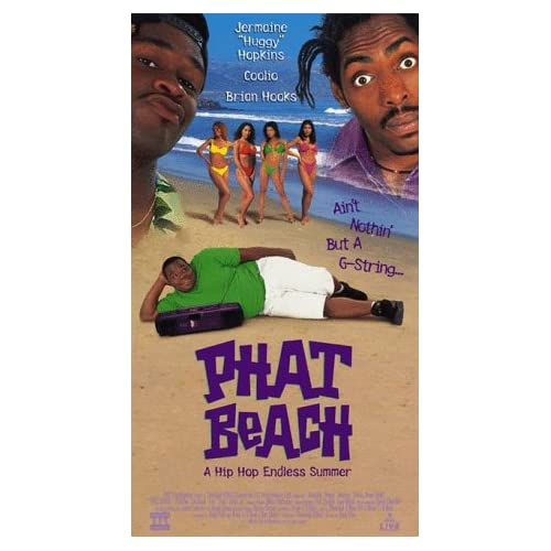 com: Phat Beach [VHS]: Jermaine 'Huggy' Hopkins, Brian Hooks, Claudia