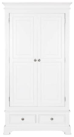 Ultimum Royal Elegance White Double Wardrobe