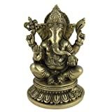 Dekoration Gott Ganesha Statue Messing 13,33 cm x 20,32 cm x 13,33 cmvon &#34;ShalinCraft&#34;