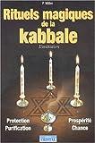 echange, troc Peter Miller - Rituels magiques de la kabbale : L'Initiation