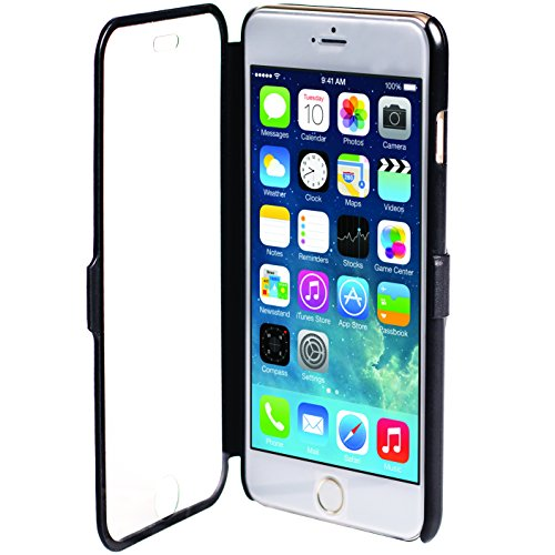 Krusell Donso ViewCase for iPhone 6 - Carrying Case - Retail Packaging - Black