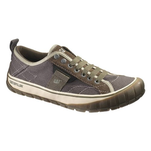 Caterpillar Men's Neder Canvas Lace-Up Sneaker,Worn Brown,13 M US