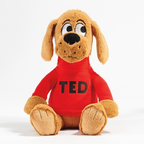 """Big Dog...Little Dog"" Ted 13"" Plush Dog - 1"