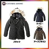 カナダグース CANADAGOOSE 日本正規品 JASPER ジャスパー (ブラック, L)
