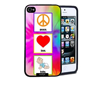 Shawnex Shawnex Peace Love Baby ThinShell Case Protective iPhone 5 Case iPhone 5S Case