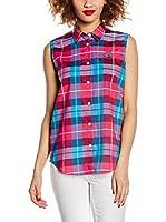 Love Moschino Camisa Mujer (Frambuesa / Cielo)