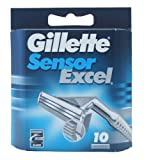 Gillette Sensor Excel Cartridges 10