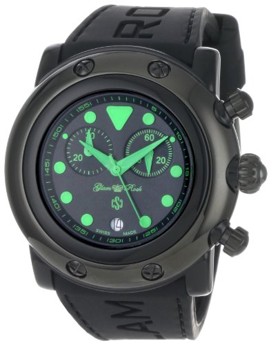 Glam Rock GR61116 - Reloj para mujeres color negro
