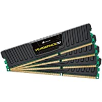 Corsair Vengeance 16GB 4x4GB DDR3 1600 MHz PC3 12800 Desktop Memory