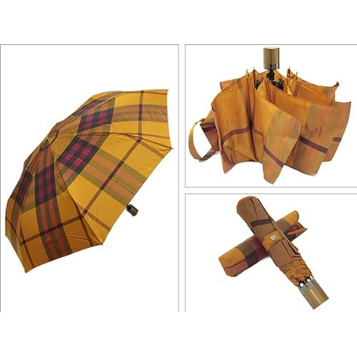 (バーバリー)BURBERRY 傘 BURBERRY 3878976 7035B 折りたたみ傘/折り畳み傘/アンブレラ GD FRE[並行輸入品]