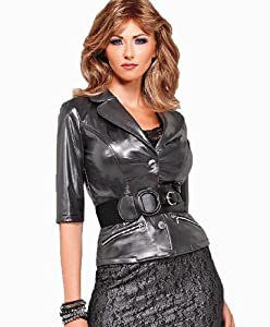 Crossdressing - Transgender Platinum Jacket With Belt