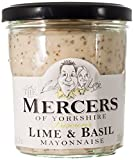 Mercers Lime and Basil Mayonnaise 260 g (Pack of 3)