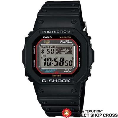 CASIO カシオ G-SHOCK Bluetooth Low Energy ジーショック 電池 メンズ 腕時計 gb-5600aa-1jf ブラック