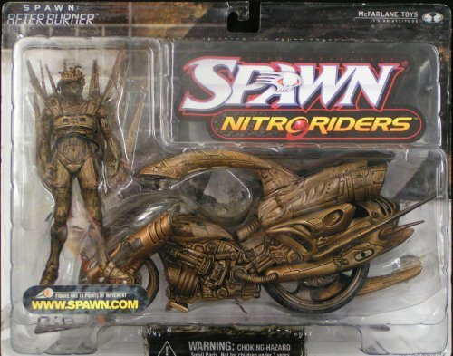 Spawn NitroRiders: AFTERBURNER Bronze Variant by Unknown - 1