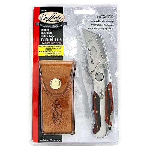 Sheffield Premium Lockback Utility Knife