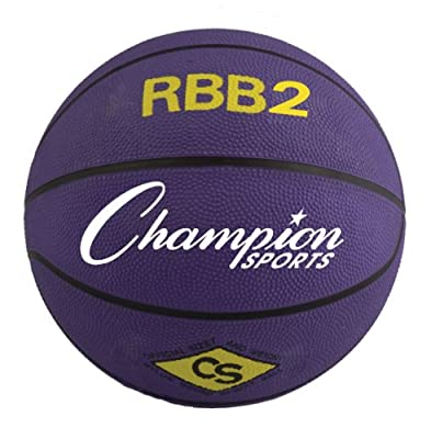 Champion Sports Rbb1 Official Rubber Outdoor Basketball (29.5) RBB2