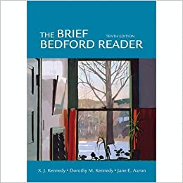 Bedford reader 10th edition essays