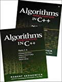 Bundle of Algorithms in C++,  Parts 1-5: Fundamentals, Data Structures, Sorting, Searching, and Graph Algorithms (3rd Edition) (Pts. 1-5) (020172684X) by Sedgewick, Robert