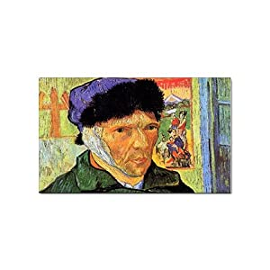 Self Portrait 11 By Vincent Van Gogh Magnet