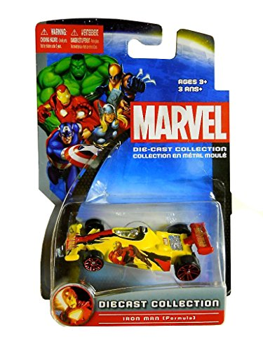 IRON MAN (Formula) Marvel Universe 2012 Die-cast Collection 1:64 scale car - 1