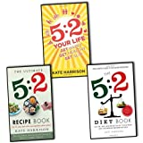 Kate Harrison the 5:2 Diet 3 Books Collection Pack set (The Ultimate 5:2 Diet Recipe Book, The 5:2 Diet Book)