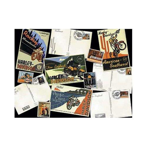FX Schmid Harley Davidson Destinations - 500 Piece Jigsaw Puzzle