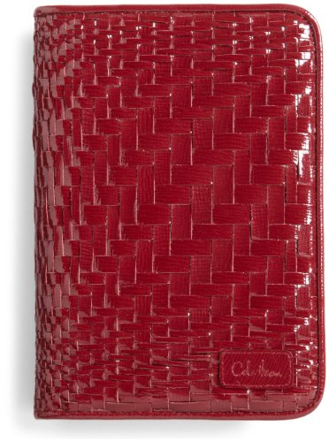 Cole Haan Hand-Woven Patent Leather Kindle Cover