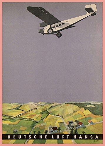 la-aviacion-y-los-viajes-alemania-deutsche-lufthansa-c1926-una-reproduccion-de-la-aviacion-poster-en