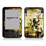 Diabloskinz Vinyl Adhesive Skin Decal Sticker for Amazon Kindle Keyboard - Regalby Diabloskinz