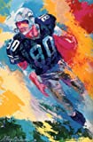 &quot;Steve Largent&quot; Autographed Fine Art Print Poster by LeRoy Neiman at Amazon.com