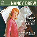 Nancy's Mysterious Letter: Nancy Drew Mystery Stories Book 8 (       UNABRIDGED) by Carolyn Keene Narrated by Jessie Birschbach