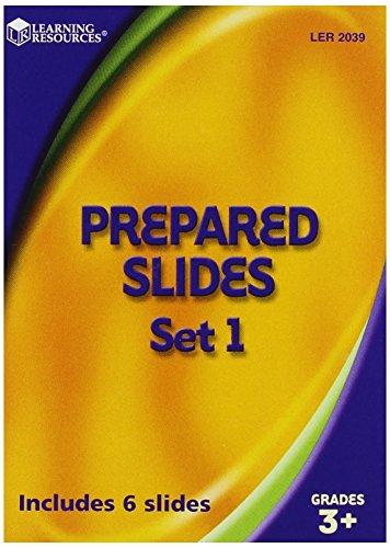 Learning Resources Prepared Slides Combo Set (48 Specimens)