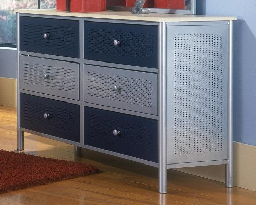 Hillsdale Furniture 1177 717 Universal Youth Kids Dresser Silver