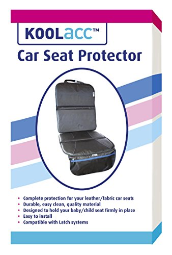 car seat protector by koolacc ideal seat protector under car seat protects leather fabric. Black Bedroom Furniture Sets. Home Design Ideas