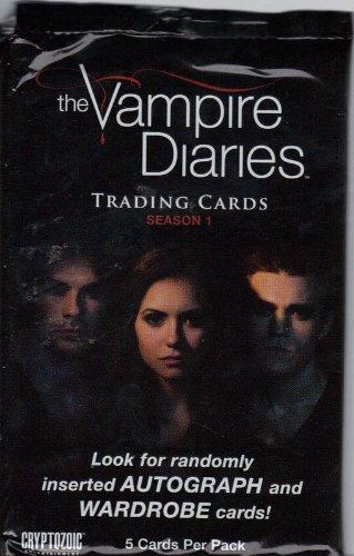 The Vampire Diaries Season 1 Trading Cards Booster Pack (The Vampire Diaries Season 7 compare prices)