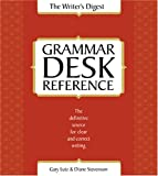 Writer's Digest Grammar Desk Reference (1582973350) by Gary Lutz