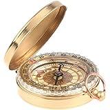 Klassische Taschenuhr Stil Bronzing Antique Camping Compass