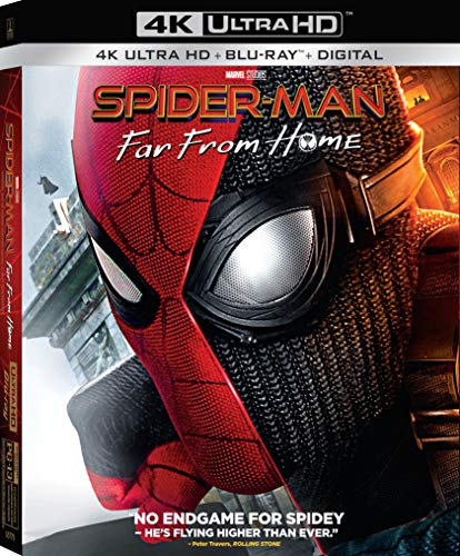 4K Blu-ray : Spider-man: Far From Home (2 Discos)