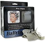 BaBylissPRO Nano Titanium PRO Roller Clips - 10pack