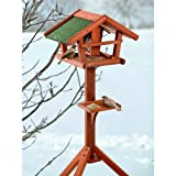 Pet Products - Karlie Bird's World Wild Vogelhaus Runa, 46 x 30 x 121 cm, Naturholz