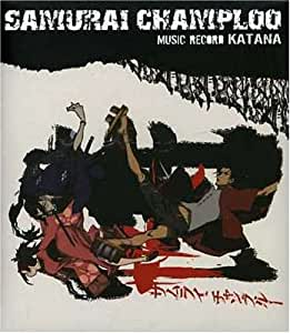 Samurai Champloo Samurai Champloo Music Record Katana