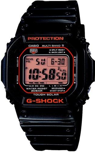 CASIO (カシオ) 腕時計 G-SHOCK タフソーラー 電波時計 MULTIBAND5 GW-M5600R-1JF