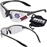 MAGSHOT Shooting Safety Glasses ACU Camo Frame 2.00+ Removable Full Magnifier thumbnail