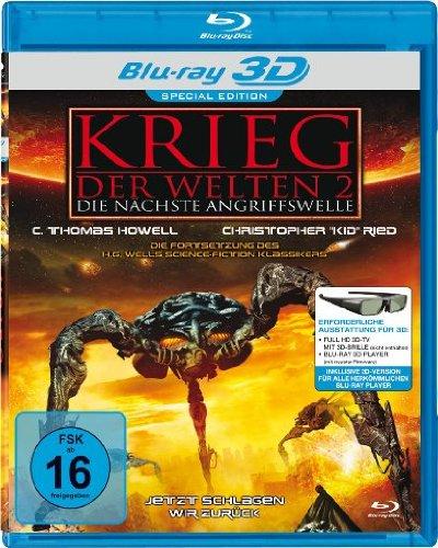 Krieg der Welten 2 - Die nächste Angriffswelle [3D Blu-ray] [Special Edition]